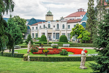 Historical Buildings In Piestany Spa, Slovakia