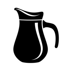 Jug Milk Or Water Canister. Pi...