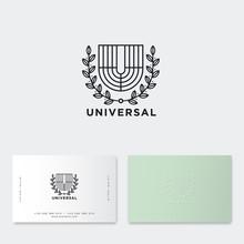 U Monogram. Universal Emblem. ...