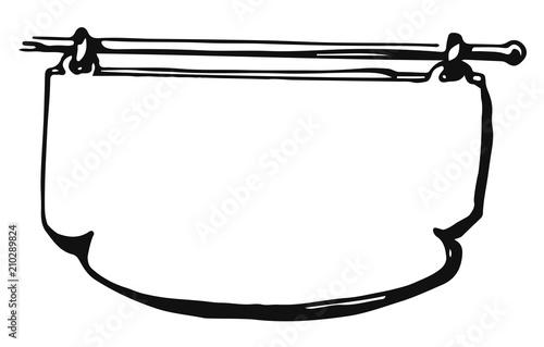 Fotografie, Obraz  Sign #vector #isolated Schild