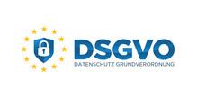 DSGVO Datenschutz-Grundverordnung Schriftzug