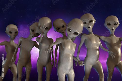 Carta da parati aliens