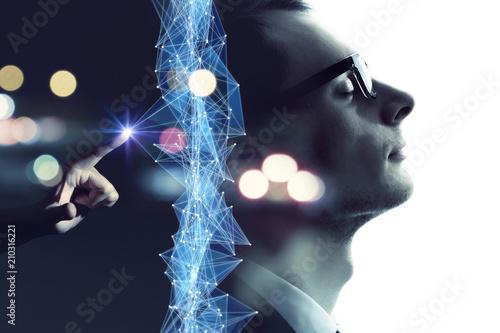 Obraz AI・人工知能 - fototapety do salonu
