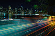 Light Trails in Brooklyn