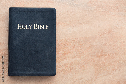 Holy Bible on Sandstone