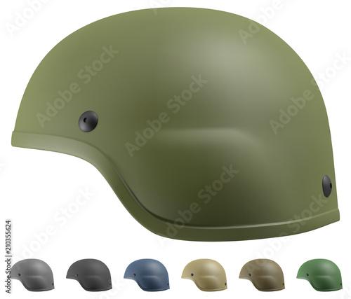Fotografie, Obraz Advanced Combat Helmet