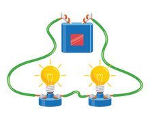 Vector Illustration Of Electri...