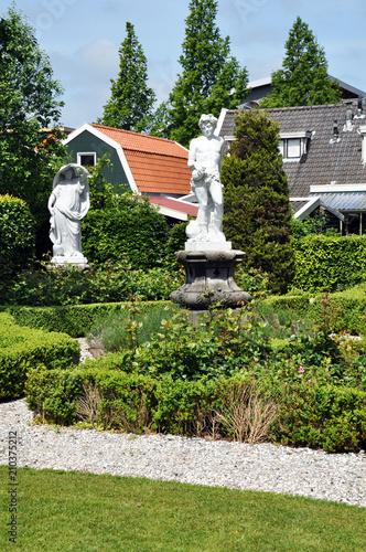 Garden Sculptures In The Landscape Design Of The Garden Or The