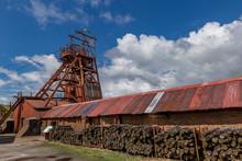 Abandon Coal Mine In Wales, UK