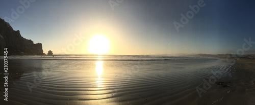 Sunset Beach Pano