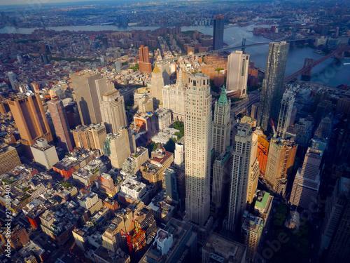 Fotografie, Tablou  New York City Downtown