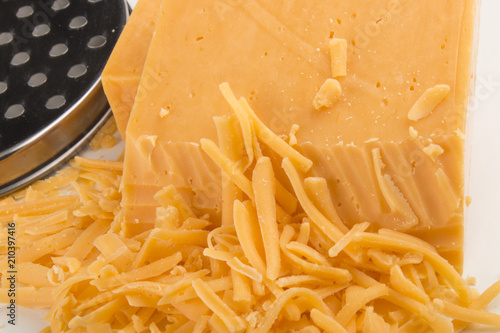 irish red cheddar grated cheese with reduced fat