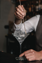 A Vertical Image Of Barman's H...