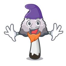 Elf Shaggy Mane Mushroom Chara...