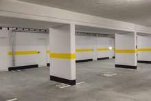 Typical Underground Car Parkin...