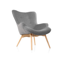 Comfortable Armchair On White ...