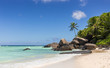 Paradise beach in the Seychelles