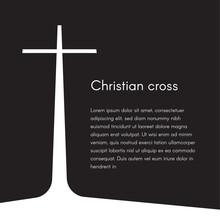 Christian Cross Silhouette. Re...