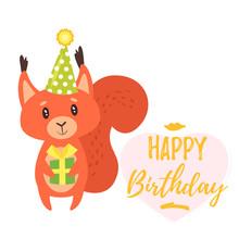 Happy Birthday Greeting Card T...