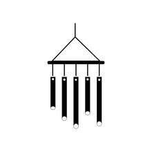 Chimes Icon Vector Icon. Simpl...