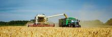Getreideernte - Mähdrescher U...