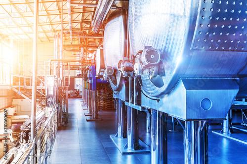 Fotografia  Chemical manufacturing industrial equipment