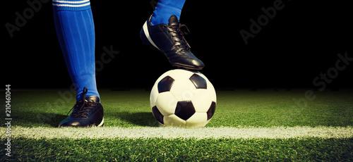 Fotografiet  Fussball Stadion