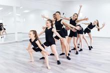 The Group Of Beautiful Teenage...