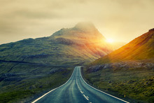 A Long Straight Country Road, ...