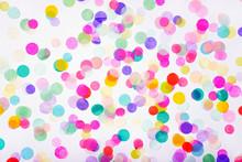 Background Of Colorful Confetti