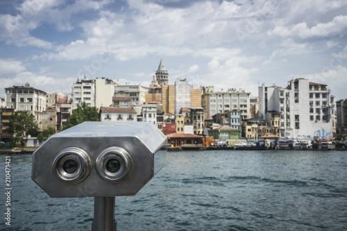 Plakat Zwiedzanie w Stambule