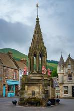 Village Fountain Falkland Scot...