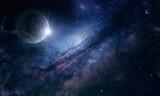 Fototapeta Kosmos - млечнвй путь в космосе