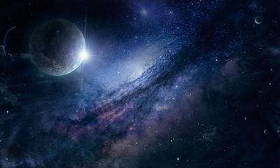 Droga mleczna w kosmosie