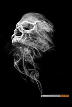 Smoking Is Death (Concept Of N...