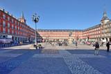 Fototapeta Miasto -  Plaza Mayor in Madrid, Spain