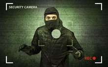 Caught Burglar By House Camera...