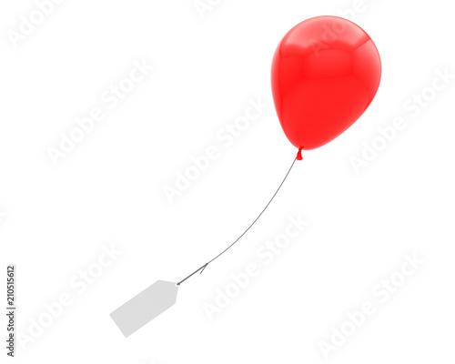 Fotografiet ballon hélium message