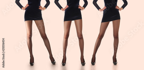 Fotografia  Layout for packing of pantyhose