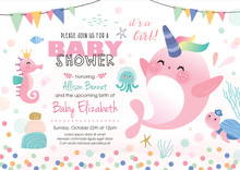 Baby Shower Under The Sea Them...