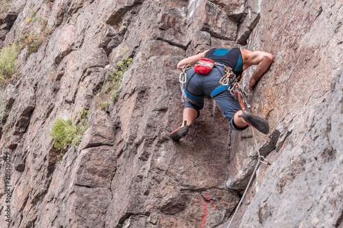 Poster  Rock climbing