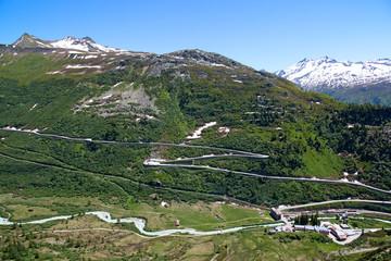 Fototapeta na wymiar Swiss alps