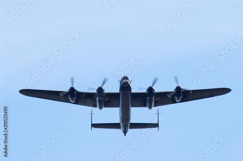 Tableau sur Toile Lancaster Bomber