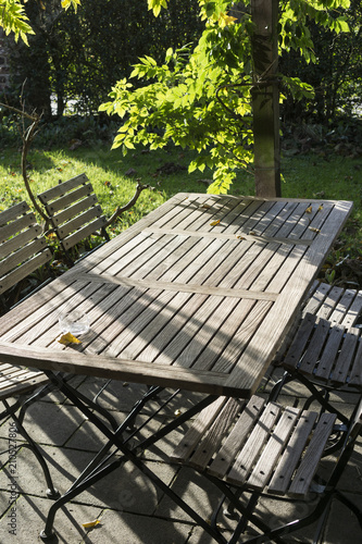 terrasse ombragée - Buy this stock photo and explore similar ...