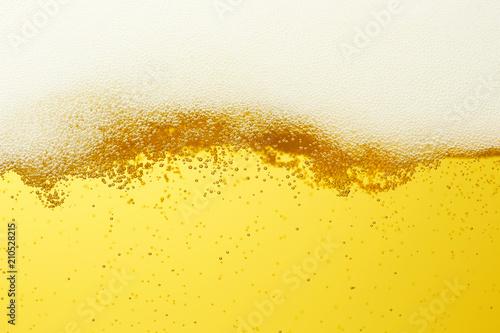Fotografia ビールのクローズアップ