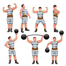 Strong Man Set