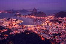 Rio De Janeiro Skyline Panoram...