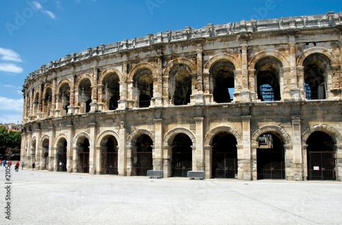 Fotografie, Obraz  Arènes de Nîmes, Nîmes, département du Gard, France