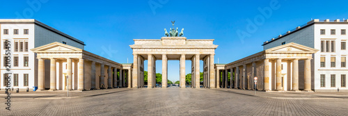 Das Brandenburger Tor am Pariser Platz in Berlin, Deutschland