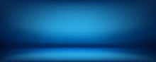 Blue Background, Abstract Wall...